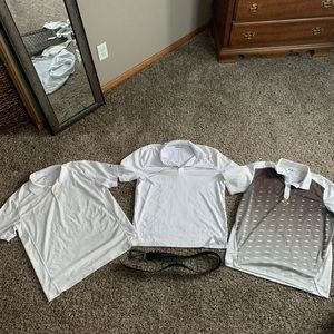 Three Polos and Nike Belt